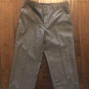 34x30 Classic Fit, Light Grey. Men's slacks.